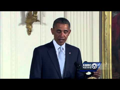 President Obama reacts to deadly Jewish center shootings