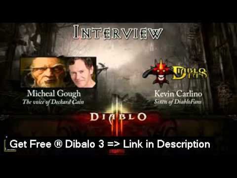 Diablo 3 - Deckard Cain Speaks With DiabloFans - Interview  **HOT!**