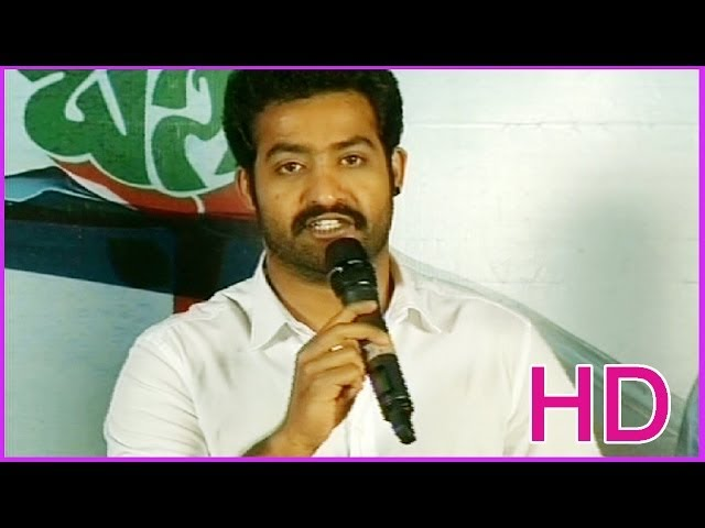 NTR Talking About Basanthi - Latest Telugu Movie Audio Launch - Goutham, Alisha Begh (HD)