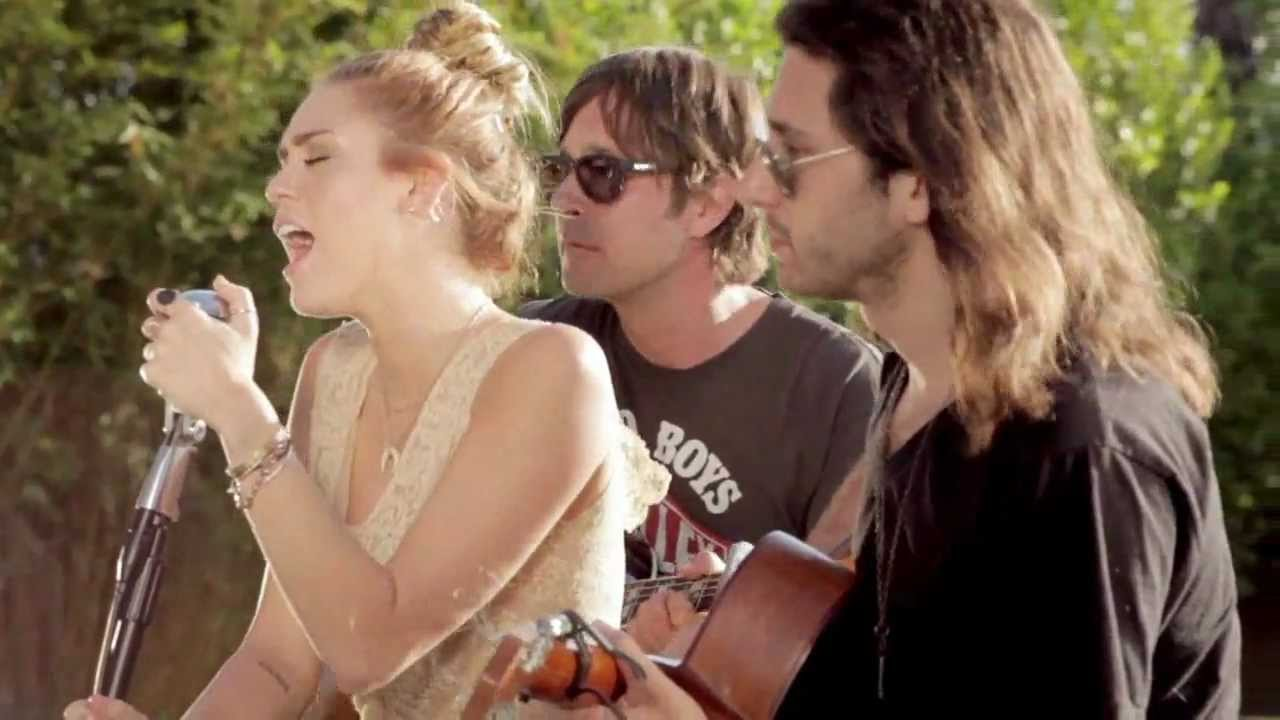 miley cyrus the backyard sessions look what they 39 ve done to my