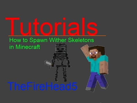 how to build a wither skeleton in minecraft pe