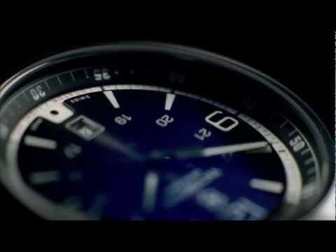 Victorinox Night Vision Chronograph (Black Ice Dial / Black Rubber Strap)