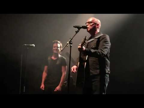 Brandon Flowers and Neil Tennant   Rent Live Los Angeles Wiltern 9 26 2015