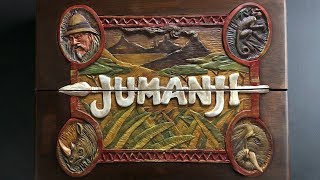 Making a Jumanji Board -Timelapse