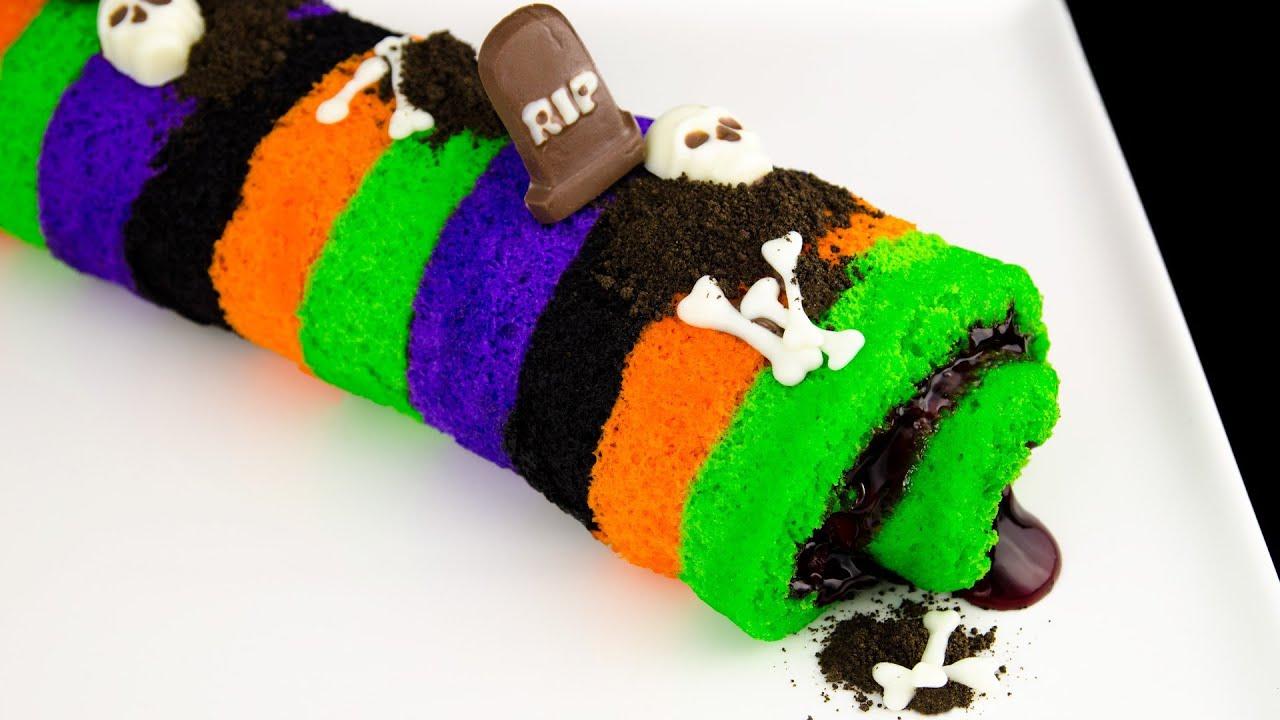 Halloween Cake Roll Recipe How To Make A Halloween Cake