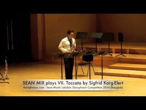 SEAN MIX plays VII Toccata by Sigfrid Karg Elert
