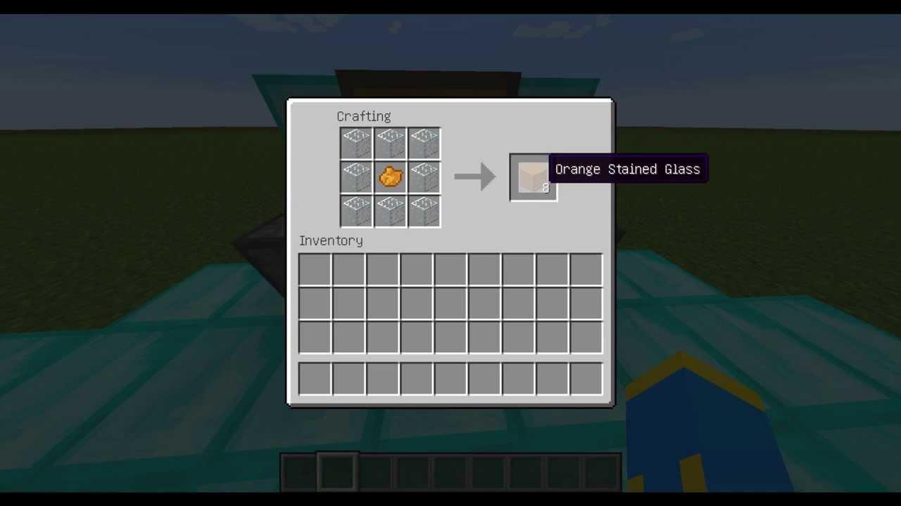minecraft how to make orange dye