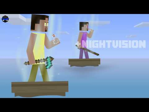 Minecraft: The Ocean Heist - [ Stickpage.com ]
