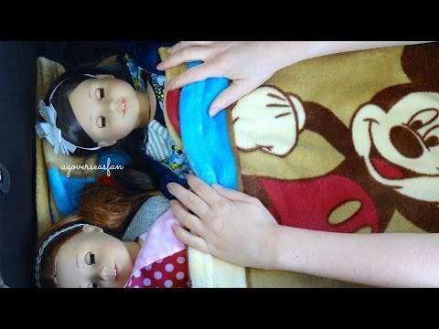 How to Travel and Pack for 2 American Girl Dolls ~ Summer Holidays ~