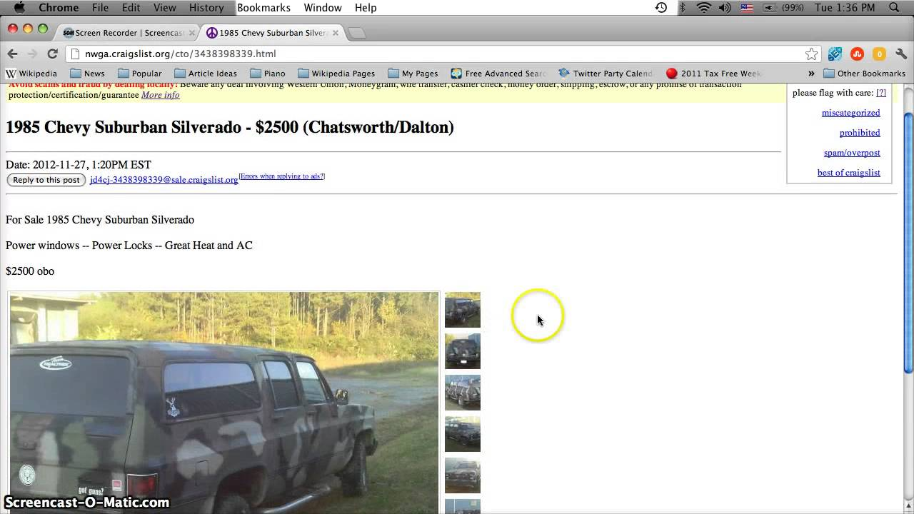 Craigslist Used Cars Cleveland Ohio By Owner