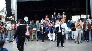 Cérémonie de cloture du Festival Cirques & Fanfares de Dole 2013