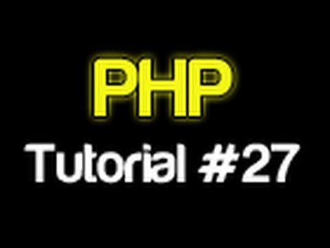 PHP Tutorial 27 - MySQL Creating A Table (PHP For Beginners)