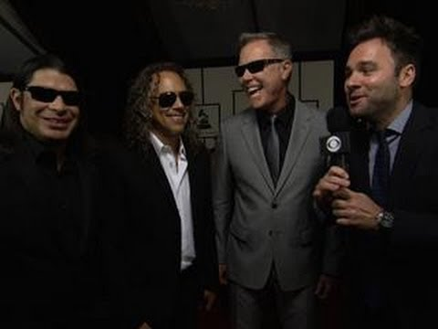 56th Grammy Awards - Metallica Interview