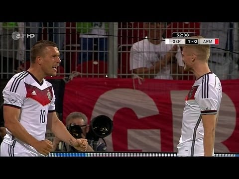 Lukas Podolski vs Armenia (Home) 13-14 HD 720p by SIFilms