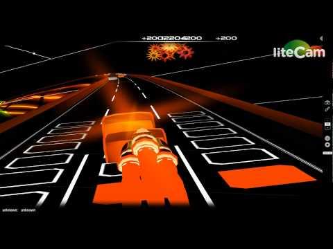 Caramelldansen Dubstep Remix ( AudioSurf Gameplay # 3)