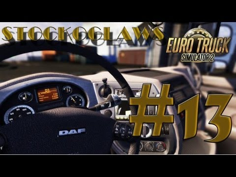 Lets Play Euro Truck Simulator 2 - Ep 13(Off to Verona  ! )