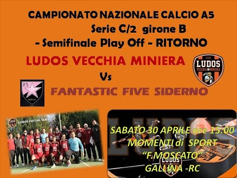 Play Off C1, Ludos - Siderno 2-5 (30/04/16)