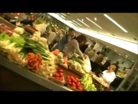 Presentación de la campaña en el mercado San Martin (Donostia)