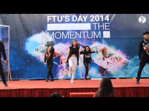 [FTU's Day 2014] Chi Pu nhảy Come Back Home