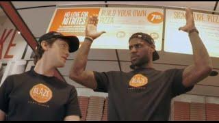 Lebron James Pranks Pizza Customers