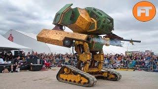 Los Robots Gigantes más Increíbles del Mundo