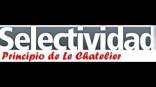 Qúimica - Equilibrio químico - Principio de Le Chatelier