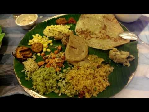 India Trip - South Indian Food Banquet in Bangalore