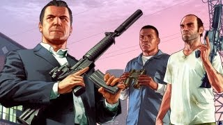 GTA 5: Walking Across The Map, Shooting People IGN Plays