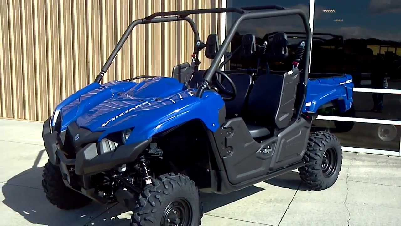 2014 yamaha viking 700 3 seater side x side in blue ForYamaha Viking 3 Seater