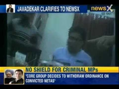 Tulsi Prajapati Encounter Sting : BJP's Prakash Javadekar clarifies to NewsX