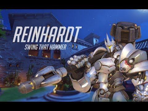 Overwatch (PS4) - Reinhardt gameplay