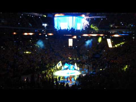 Intro movie Clippers @ Warriors - Game 4 NBA Playoffs 2014