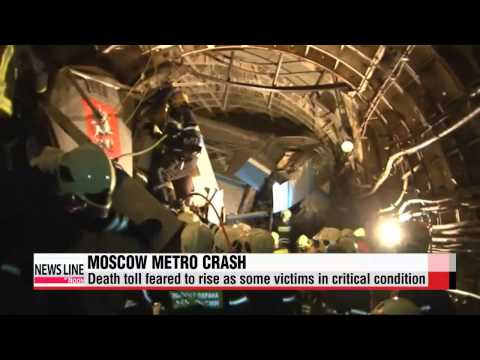Death toll feared to rise in Moscow subway derailment