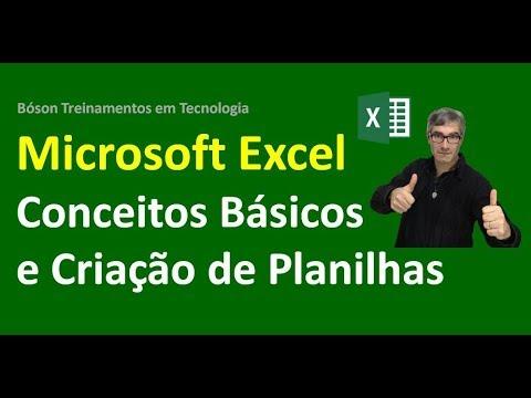 01 - Excel 2010 - Conceitos Básicos e Criação de Planilhas