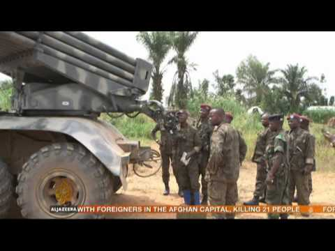 UN-backed DR Congo force launches offensive