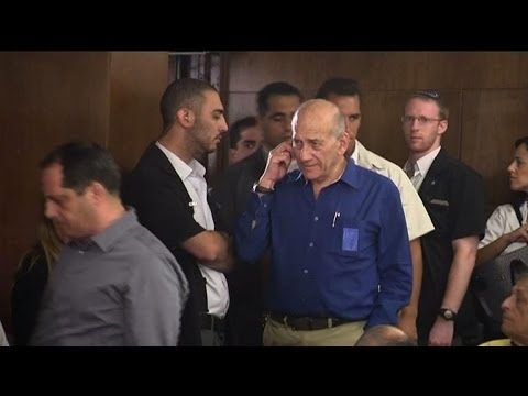 Ex-Israeli PM Olmert receives 6 years of jail for bribery