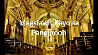 Magsiawit Kayo sa Panginoon - YouTube