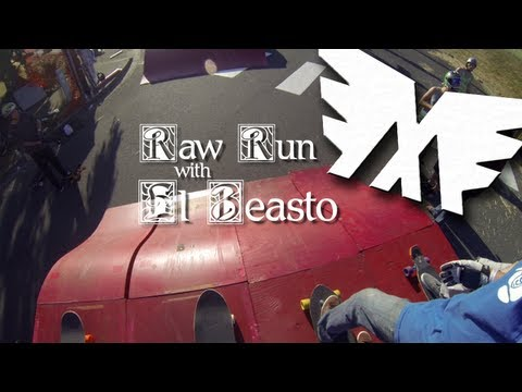 Cathlamet Boardcross Raw Run | El Beasto
