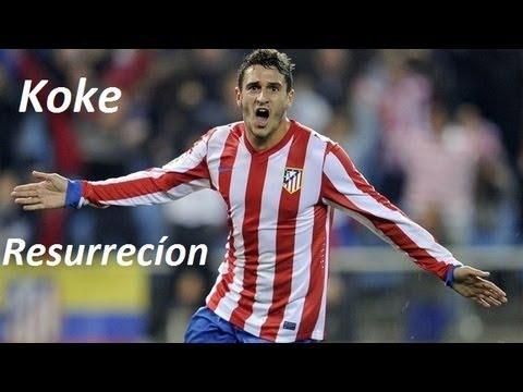 Koke Resurrecíon -  Goals, Skills & Passes | Atlético Madrid | 2013 | HD
