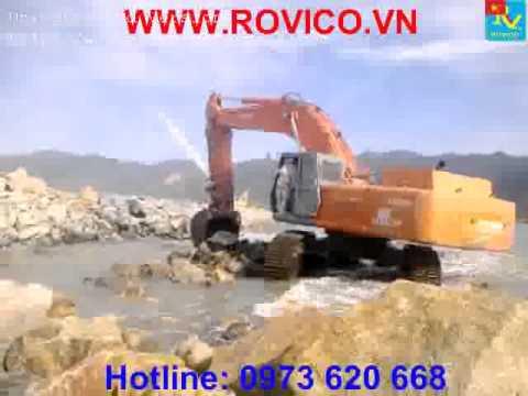 Xe xúc đất, Máy xúc bùn, Xe xúc đào đá, Xe cơ giới,máy công trình