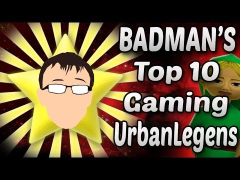 Top 10 Creepy Urban Legends in Gaming - Badman (Feat. Jordan Underneath)