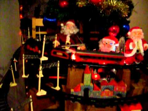 Trens e árvore de Natal do Zé Fusca - 2010