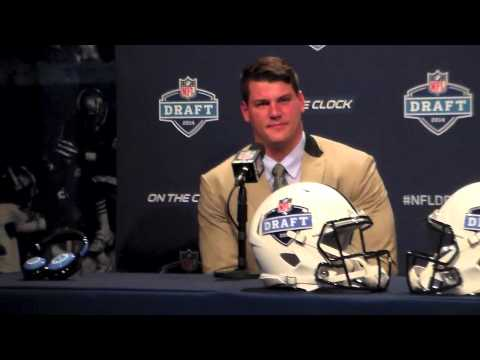 Taylor Lewan Highlights Interview Tennessee Titans NFL Draft