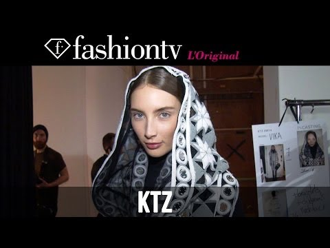 KTZ Fall/Winter 2014-15 Backstage | London Fashion Week LFW | FashionTV