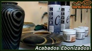 Técnicas decorativas en el torneado en Madera