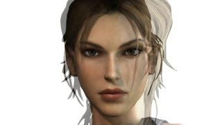 "Face Morph Of Lara Croft ""Tomb Raider (Video Game)"" [1996"
