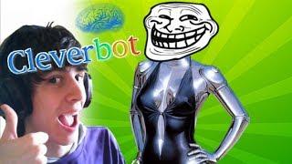 RIMORCHIARE UN'INTELLIGENZA ARTIFICIALE!! - Cleverbot