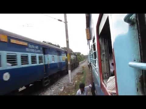 [HD]: KJM WDG 3A chugs its heart out with Sheshadri Express