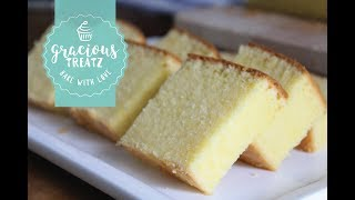 How to Bake Super Soft Moist Butter Cake Easy