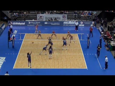 USAV Cup Women | Match 4 vs. Brazil | July 12, 2014